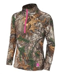 carhartt girls' realtree xtra quarter zip (youth)