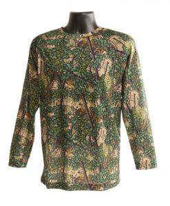 bushlan men's dry fit performance long sleeve shirt