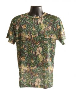 bushlan men's dry fit performance short sleeve shirt