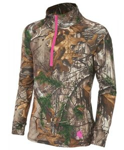 carhartt force girls' realtree xtra quarter zip