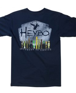 heybo duck calls short sleeve t-shirt