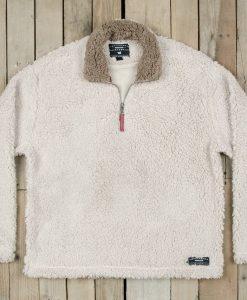 Southern Marsh Appalachian Pile Sherpa Pullover