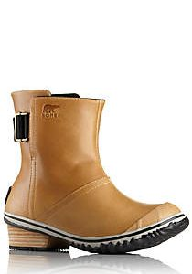sorel women's slimboot pull on leather boot