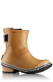 sorel women's slimboot pull on leather boot