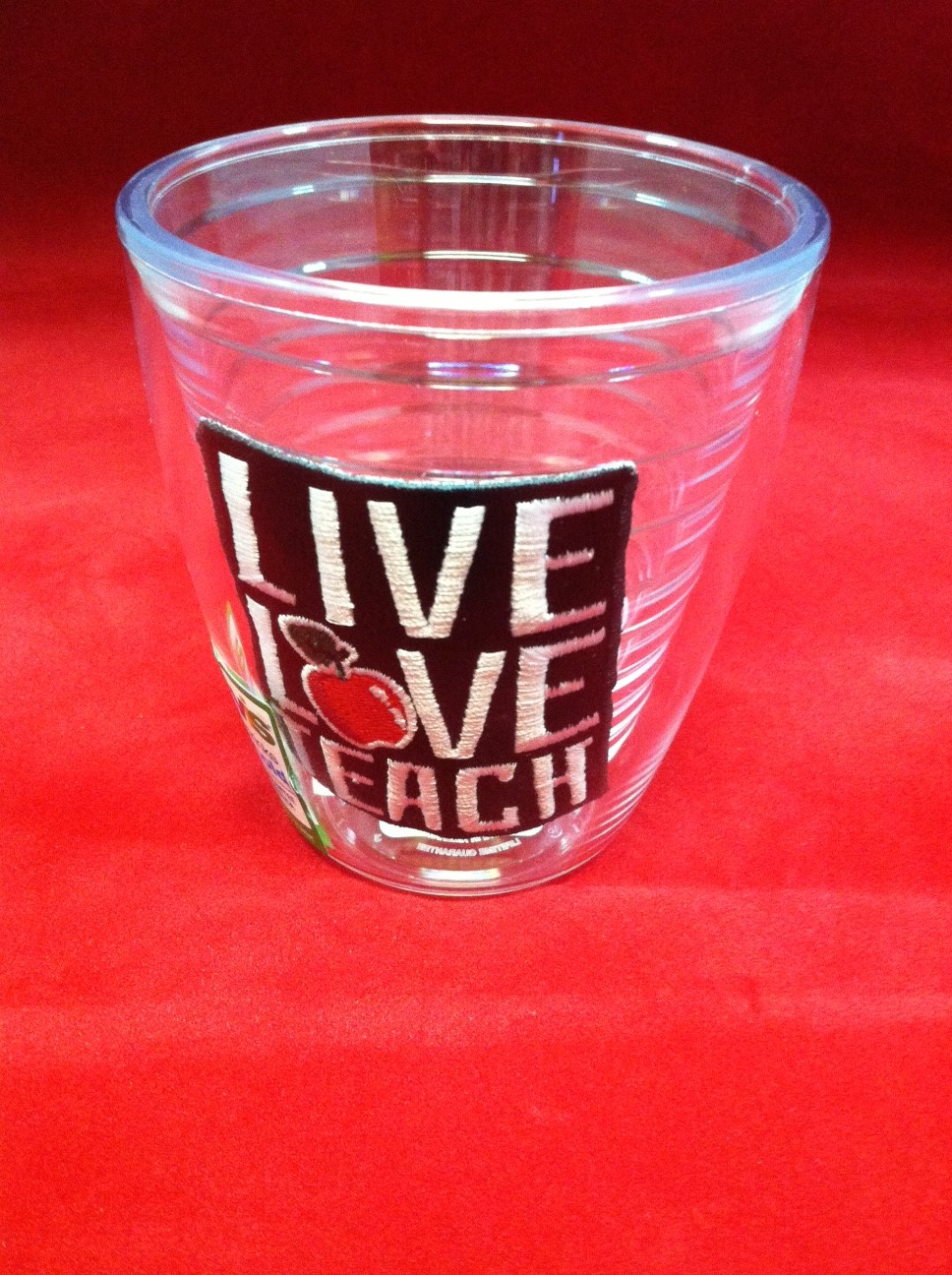 tervis live love teach 12 oz. tumbler