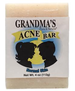 grandma's acne bar ( oily skin)
