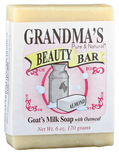 grandma's goat's milk beauty bar(almond)