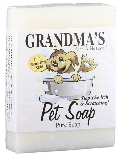 grandma's pet soap(sensitive skin) , 4.0 oz.
