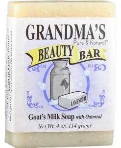 grandma's goat's milk beauty bar