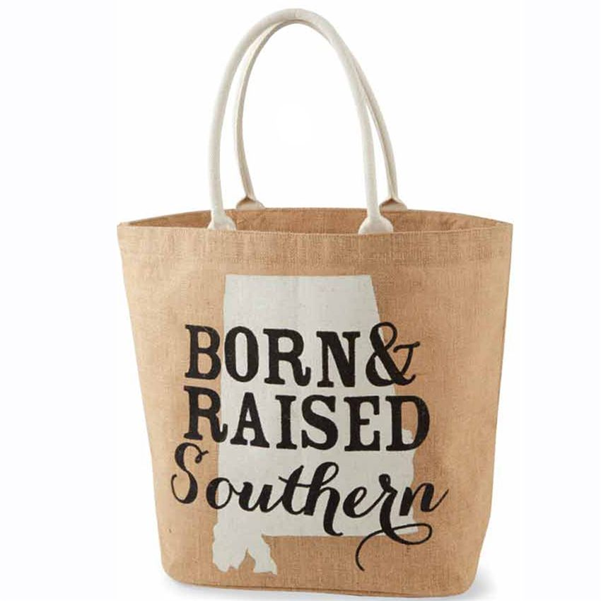 mud pie alabama southern state tote