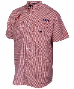 columbia men's collegiate super bonehead ss shirt - alabama