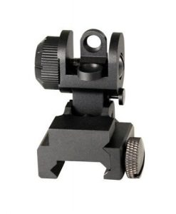 aim sports ar-15 / m16 a2 rear flip-up sight