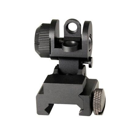 aim sports ar-15 / m16 a2 rear flip-up sight