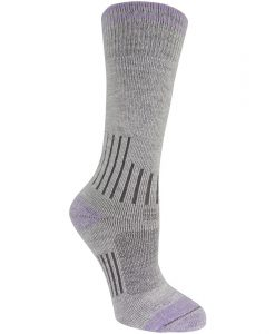 carhartt women's work-dry merino wool graduated compression sock