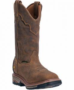 dan post men's blayde waterproof steel toe pull on