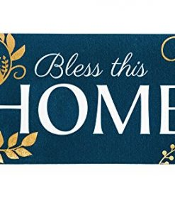 evergreen bless this home sassafras switch mat