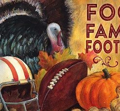 evergreen food, family, football sassafras switch mat