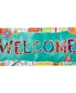 evergreen wonderfully quirky welcome sassafras switch mat