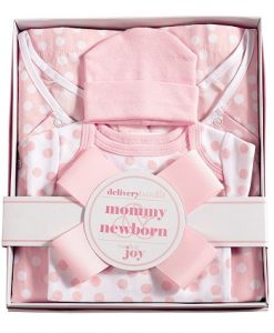 mud pie pink confetti dot hospital set