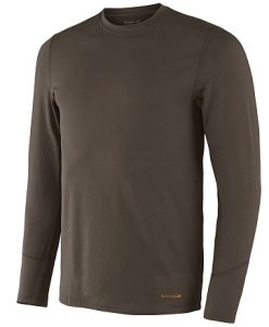 terramar men's thermolator crew with mesh