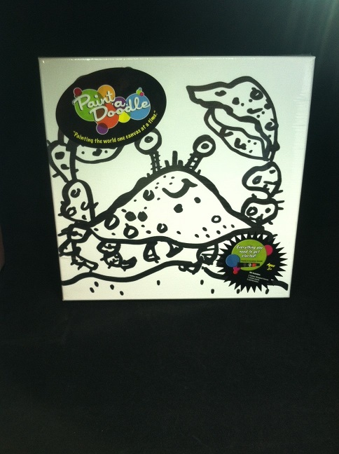 paint-a-doodle 12 x 12 crabby 2 painting kit