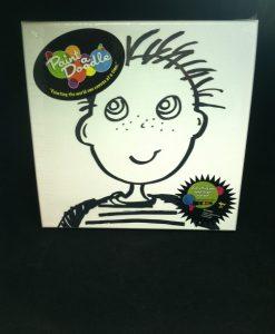 paint-a-doodle 12 x 12 boy painting kit