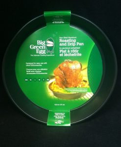 big green egg non-stick aluminum roasting and drip pan