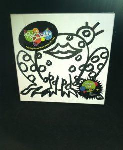 paint-a-doodle 12 x 12 frog 2 painting kit