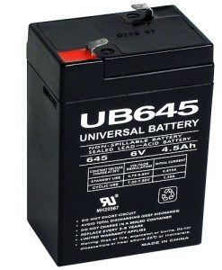 universal power group 6 volt agm battery