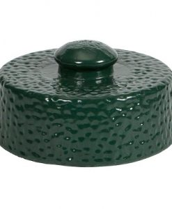 big green egg ceramic damper top for mini egg