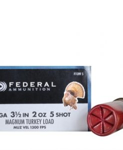 "federal premium strut-shok turkey load 12 ga. , 3 1/2"", 2 oz., 5 shot"