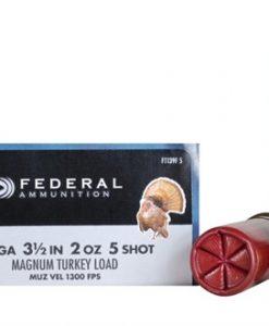 """federal premium strut-shok turkey load 12 ga. , 3 1/2"""", 2 oz., 5 shot"""