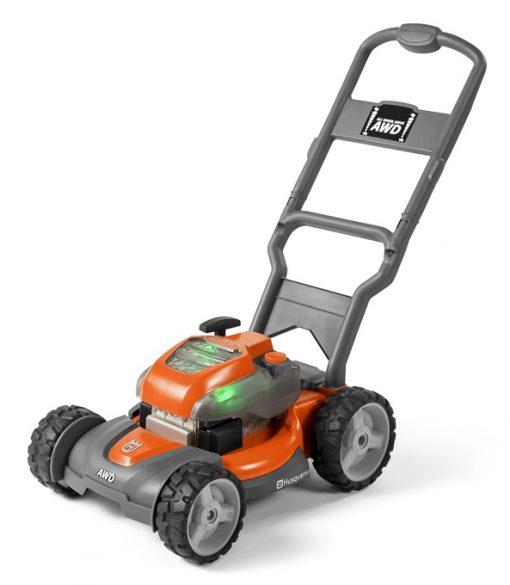 husqvarna toy walk lawn mower