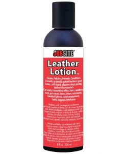 jobsite leather lotion 8 oz.