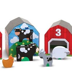 melissa & doug nesting & sorting barns & animal