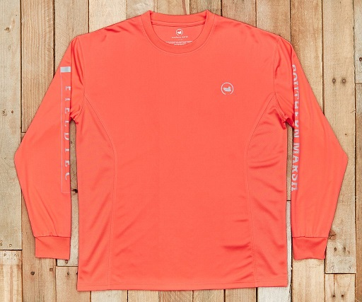 southern marsh fieldtec fishing team tee - long sleeve
