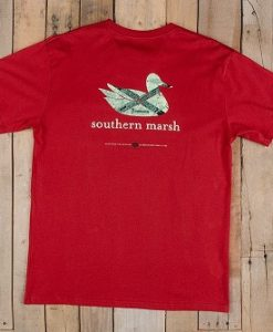 southern marsh men's authentic heritage tee - alabama