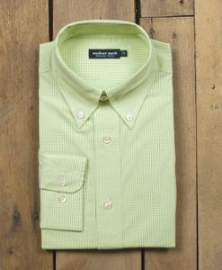 southern marsh youth gadwall gingham dress shirt
