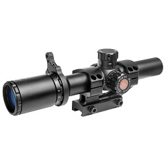 truglo tru-brite 30 series tactical rifle scope 1-6x24