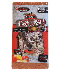 wildgame innovations apple crush brick deer attractant 4 lb.