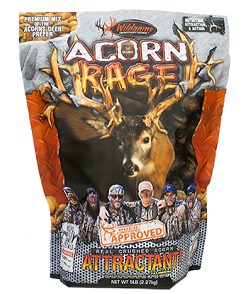 wildgame innovations buck commander acorn rage deer attractant 5 lb.