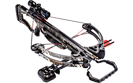 Barnett Raptor FX2 Crossbow, 4 X 32 Scope