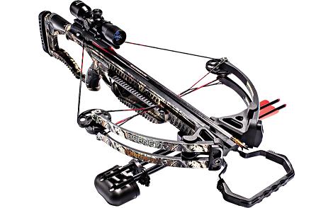Barnett Raptor FX2 Crossbow, 4 X 32 Scope