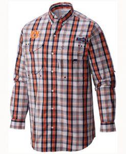Columbia Men's Super Bonehead LS Shirt- Auburn