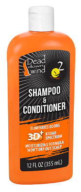 Dead Down Wind Shampoo & Conditioner 12 Oz.