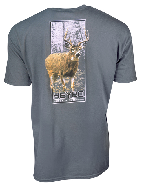 Heybo Big Buck Short Sleeve T-Shirt