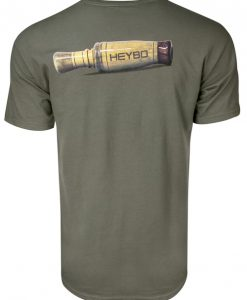 Heybo Wooden Duck Call Short Sleeve T-Shirt