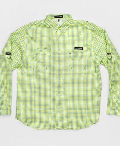 Southern Marsh Men's Harbor Cay -Drake Grid Long Sleeve Shirt