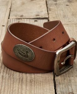 Southern Marsh Men's Heritage Medallion Leather Belt