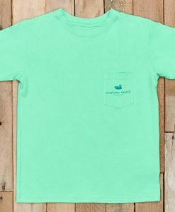 Southern Marsh Youth River Route Collection Tee - Paddles